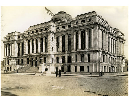 Newark City Hall Broad Street 1909 Old Vintage Photos and Images