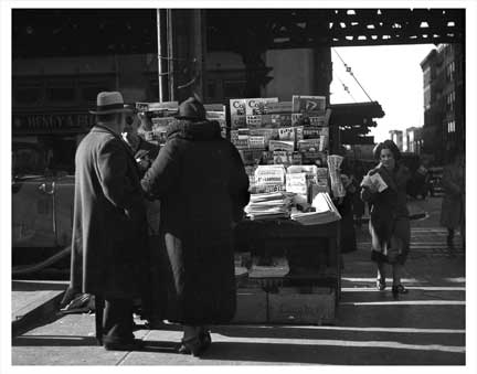 Newpaper Vendor Old Vintage Photos and Images