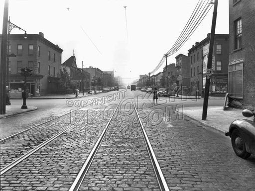 Ninth Street southwest to Third Avenue (Gowanus), 1947 Old Vintage Photos and Images