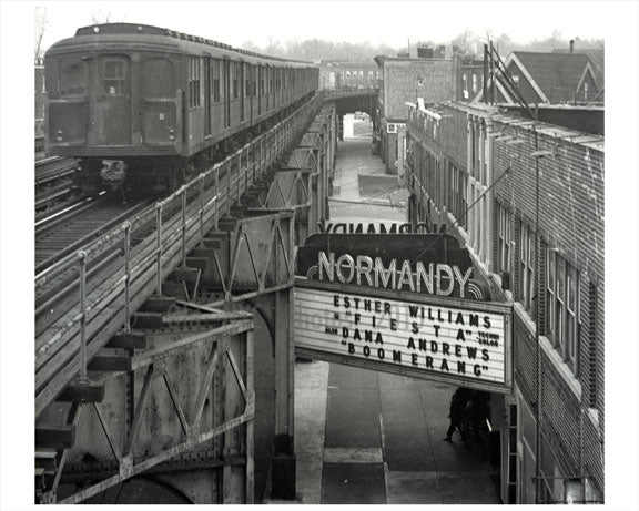 Normandy theater 217 New Utrecht Avenue Old Vintage Photos and Images