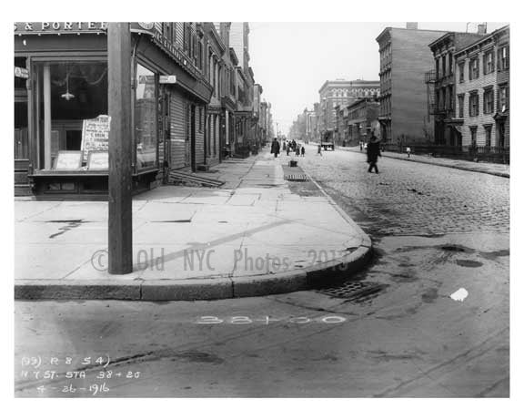 North 7th Street - Williamsburg Brooklyn, NY 1916 X2 Old Vintage Photos and Images