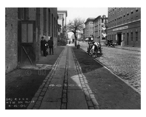 North 7th Street - Williamsburg Brooklyn, NY 1916 X7 Old Vintage Photos and Images