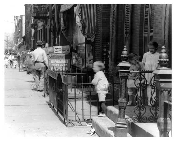 North 7th  Street  - Williamsburg - Brooklyn, NY 1918 C4 Old Vintage Photos and Images