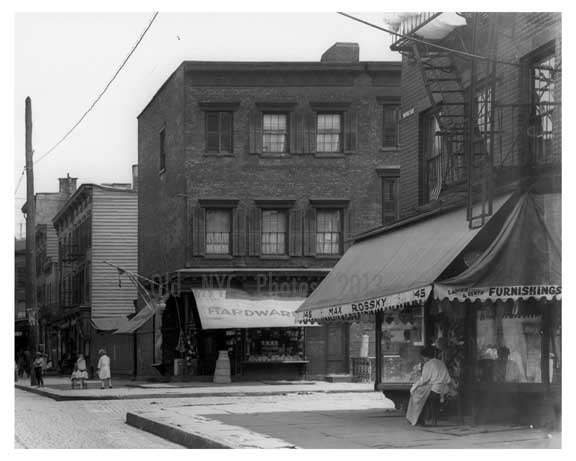 North 7th Street & Wythe Ave -  Williamsburg - Brooklyn, NY  1918 Old Vintage Photos and Images