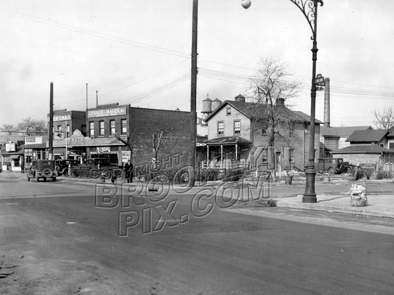 Northwest corner of Avenue M and East 17th Street, c.1930 Old Vintage Photos and Images