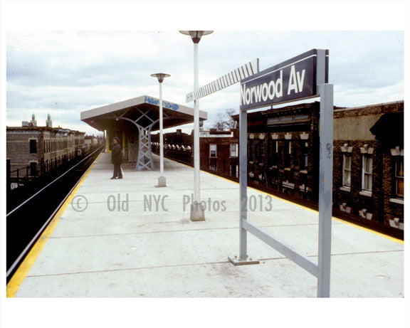 Norwood Station Old Vintage Photos and Images