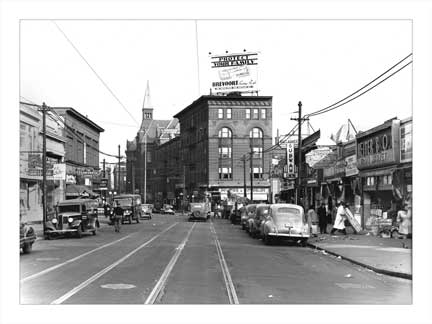 Nostrand Ave & Herkimer Bedford-Stuyvesant Brooklyn NY Old Vintage Photos and Images