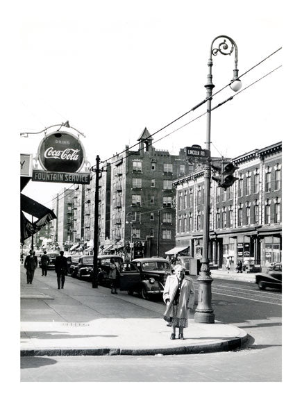 Nostrand Avenue at Lincoln Road. May 8, 1949 Old Vintage Photos and Images