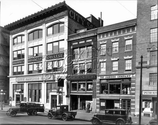 Numbers 33-11 Lafayette Avenue, 1929 Old Vintage Photos and Images