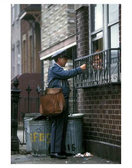 NYC Mailman Old Vintage Photos and Images