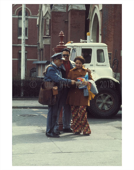 NYC Mailman 1970s Old Vintage Photos and Images