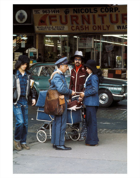NYC Mailman 1970s A Old Vintage Photos and Images