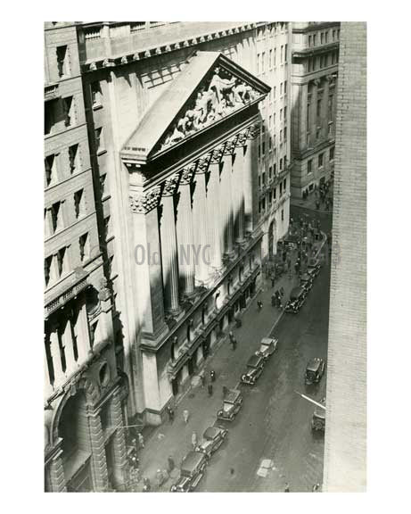 NYC Stock Exchange 1934 Downtown Manhattan Old Vintage Photos and Images