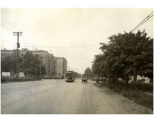 Ocean Avenue, north of Ave R - June 1927 Old Vintage Photos and Images