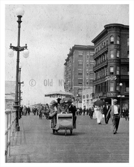 On the boardwalk Atlantic City 1914