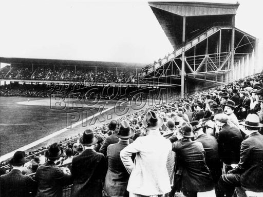 Opening day at Ebbets Field, 1913 Old Vintage Photos and Images