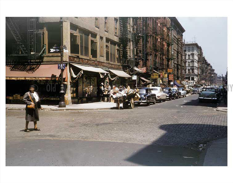 Orchard st. & Broome St. Old Vintage Photos and Images