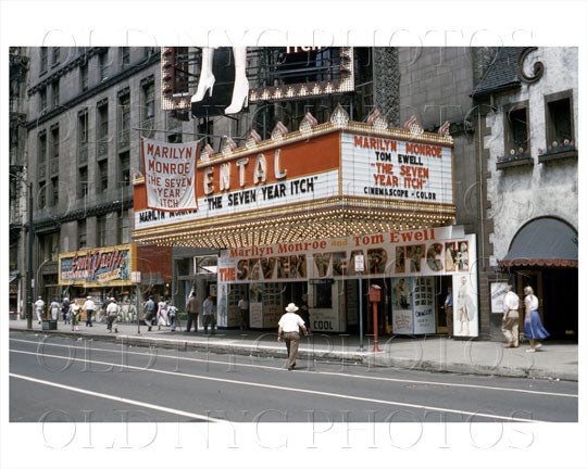 Oriental Theater Chicago, IL 1955 Old Vintage Photos and Images
