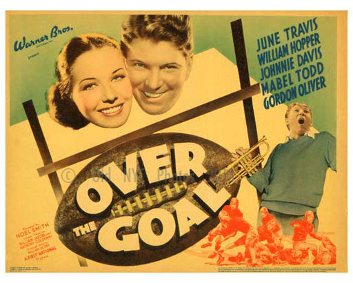 Over the Goal - Vintage Posters Old Vintage Photos and Images