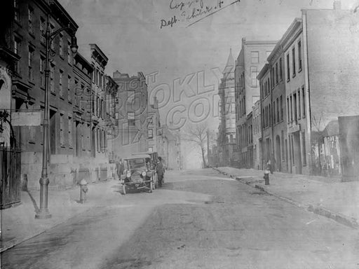 Pacific Street looking west to Clinton Street, 1918 Old Vintage Photos and Images