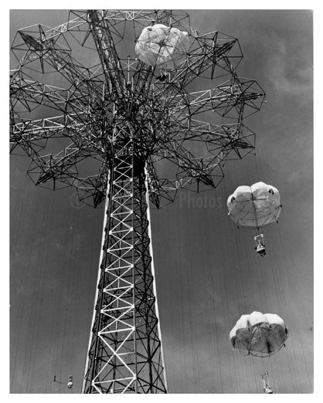 Parachute Jump A Old Vintage Photos and Images