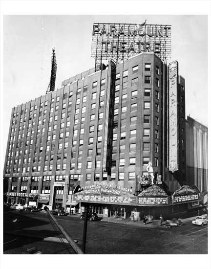 Paramount Theater Brooklyn Old Vintage Photos and Images
