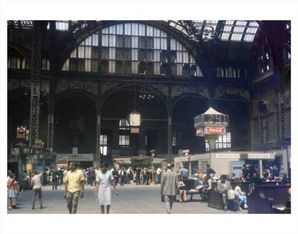 Penn Station Old Vintage Photos and Images