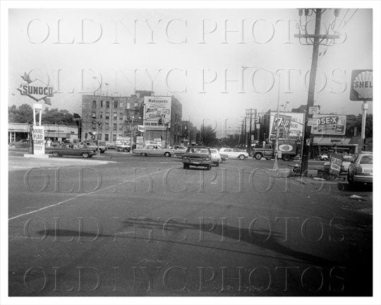 Pennsylvannia Avenue looking north at Linden Blvd East New York 1965 Old Vintage Photos and Images