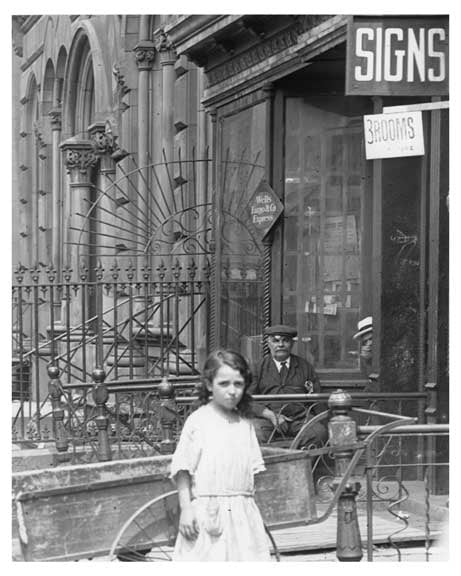People on the Street - Metropolitan Ave  - East Williamsburg - Brooklyn, NY  1918 A Old Vintage Photos and Images