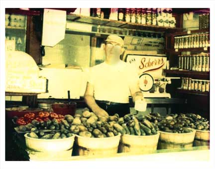 Pickle Salesman Old Vintage Photos and Images