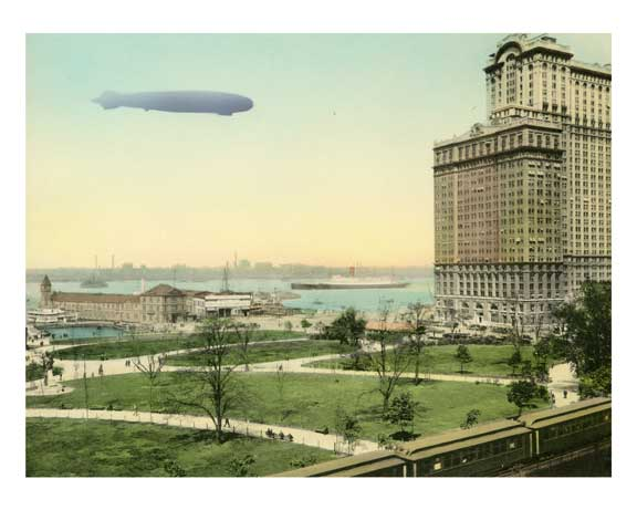 Pier No.1., North River - Battery Park & Whitehall Bldg.  - New York, NY