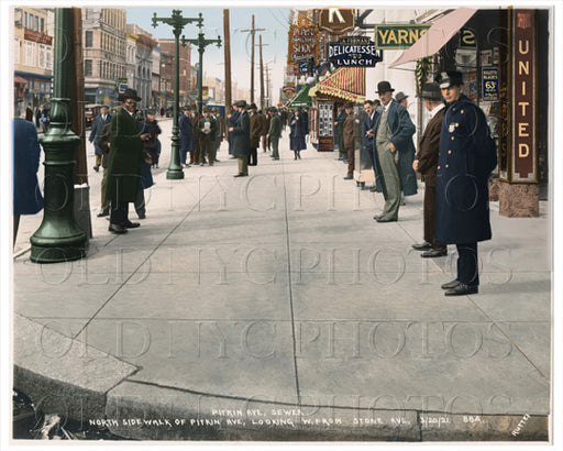Pitkin Avenue Brownsville 1921 Old Vintage Photos and Images