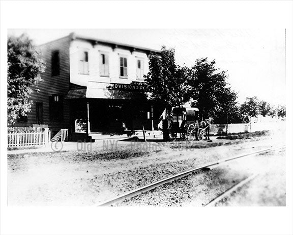 Plank Rd & Bath Ave 1889 - Bath Beach - Brooklyn NY Old Vintage Photos and Images