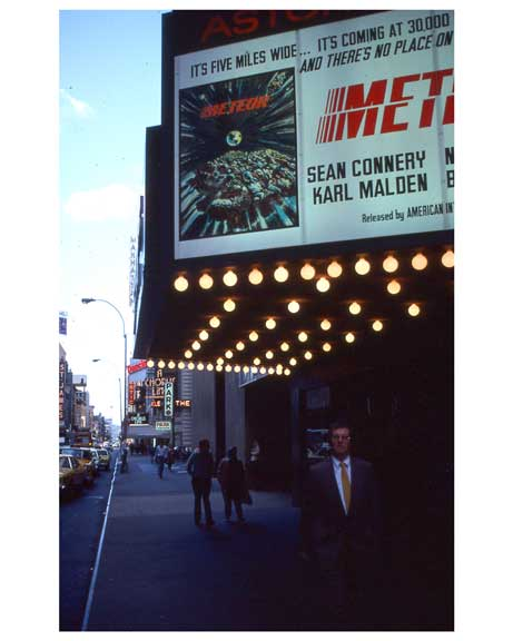 Play advertisements  - Theater District 1970s Manhattan II Old Vintage Photos and Images