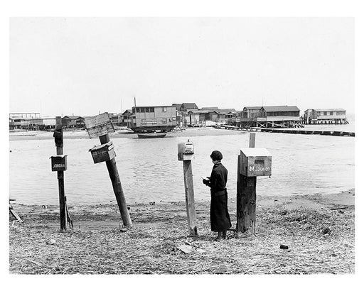 Plum Beach Island Sheepshead Bay Brooklyn 1934