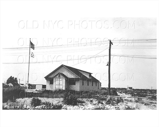 Points Square Club Breezy Point Rockaway Point 1930 Old Vintage Photos and Images