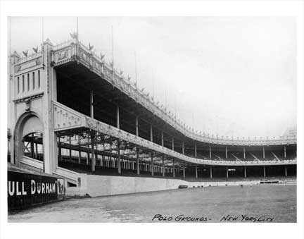 Polo Grounds Old Vintage Photos and Images