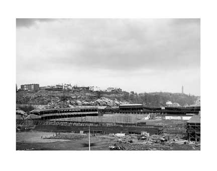 Polo Grounds Construction Old Vintage Photos and Images