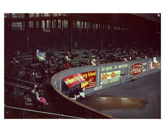 Polo Grounds looking empty 1960 1