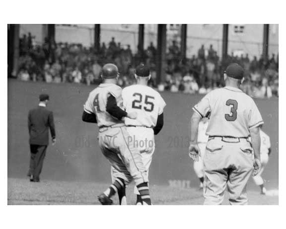 Polo Grounds NYC 1957