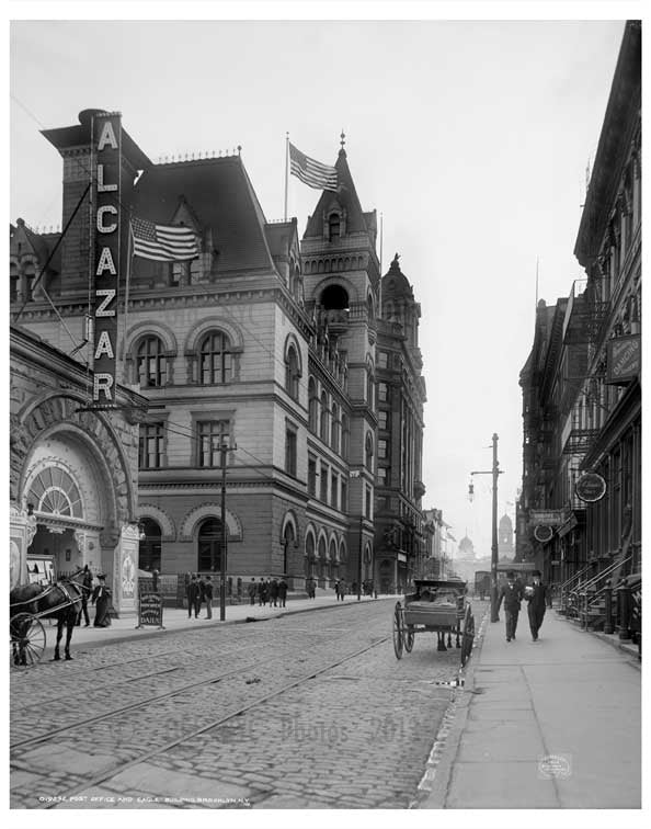 Post Office & Eagle Building 1906 Old Vintage Photos and Images