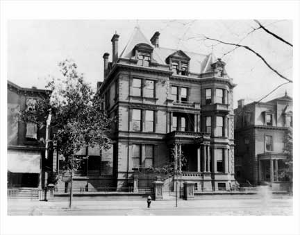 Pouch House Clinton Ave Clinton Hill Brooklyn NY Old Vintage Photos and Images
