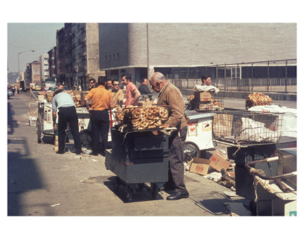 Pretzel Vendors 1969 C Old Vintage Photos and Images