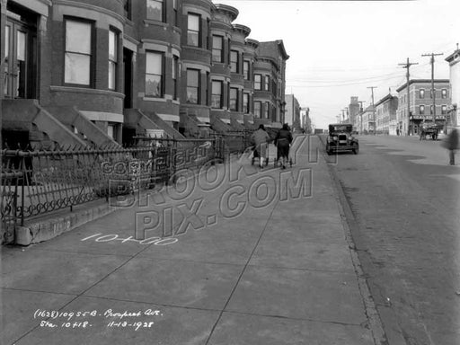 Prospect Avenue looking north to 10th Avenue, 1928 Old Vintage Photos and Images