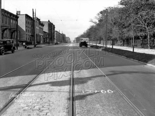 Prospect Park Southwest looking north toward Tenth Avenue, 1928 Old Vintage Photos and Images