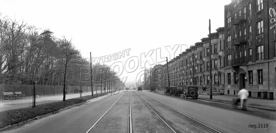 Prospect Park Southwest looking south to 10th Avenue, 1928 Old Vintage Photos and Images