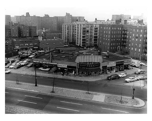 Queens Blvd & 64th Road - Forest Hills - Queens, NY  1960 A Old Vintage Photos and Images