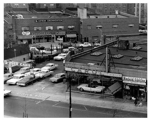 Queens Blvd & 64th Road - Forest Hills - Queens, NY  1960 B Old Vintage Photos and Images