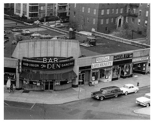 Queens Blvd & 64th Road - Forest Hills - Queens, NY  1960 C Old Vintage Photos and Images