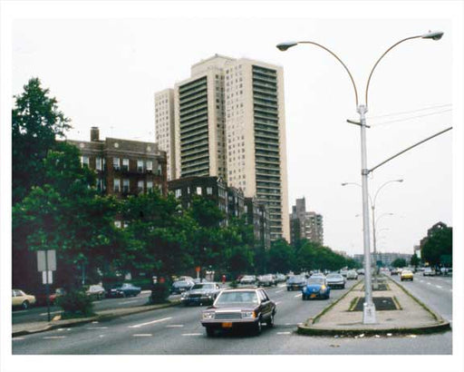 Queens Blvd.  Forest Hills  Queens 1981 Old Vintage Photos and Images